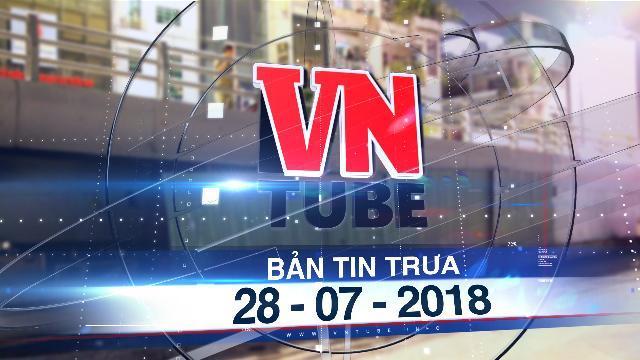 Bản tin VnTube trưa 28-07-2018: Rơi khỏi cầu vượt ở Sài Gòn, một người đàn ông thiệt mạng