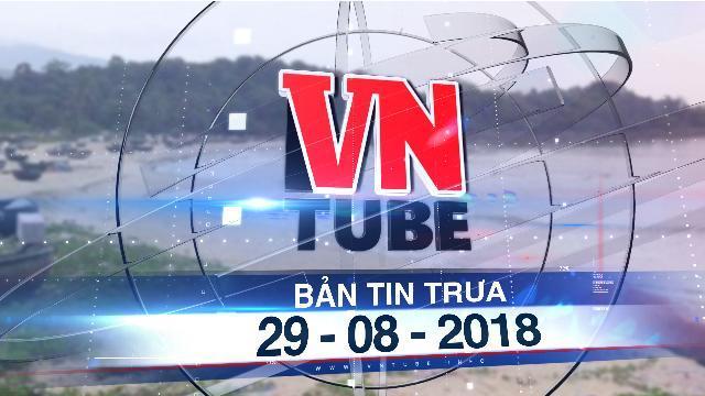 Bản tin VnTube trưa 29-08-2018: Phạt công ty 'đầu độc' biển Đà Nẵng 170 triệu đồng
