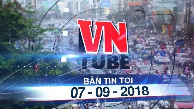 Bản tin VnTube tối 07-09-2018: Hà Nội lập đề án thu phí ô tô, xe máy vào nội thành