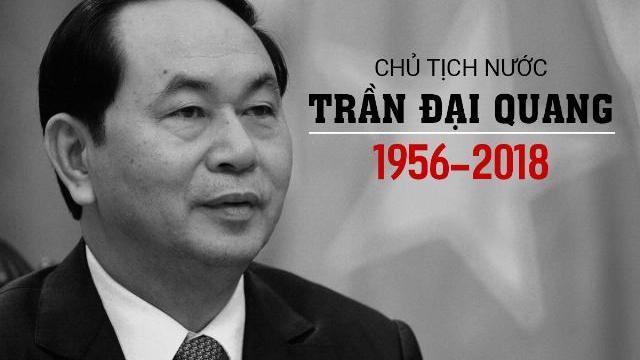 Nhìn lại những hình ảnh đẹp của Chủ tịch nước Trần Đại Quang