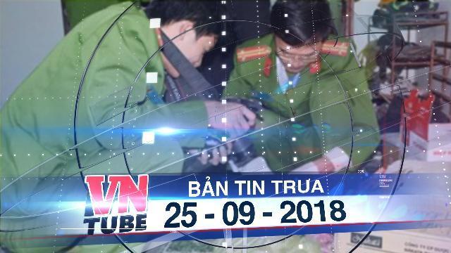 Bản tin VnTube trưa 25-09-2018: Thảm án ở Thái Nguyên, 3 người trong gia đình bị sát hại