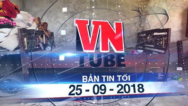 Bản tin VnTube tối 25-09-2018: Bé gái 11 tuổi bị bố sát hại vì đòi đi tập múa trung thu