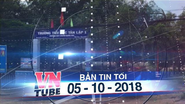 Bản tin VnTube tối 05-10-2018: Phát hiện thi thể thiếu niên 14 tuổi treo cổ trong sân trường