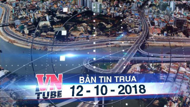 Bản tin VnTube trưa 12-10-2018: Đề xuất mở rộng TP HCM về hướng Long An