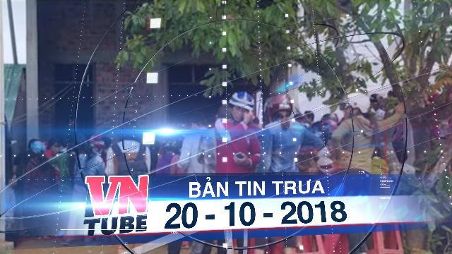 Bản tin VnTube trưa 20-10-2018: Hà Tĩnh: Bốn người trong gia đình chết trong tư thế treo cổ