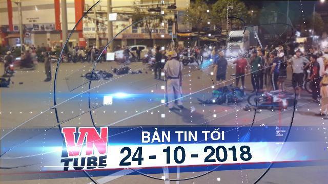Bản tin VnTube tối 24-10-2018: Khởi tố, bắt giam nữ doanh nhân gây tai nạn ở Hàng Xanh