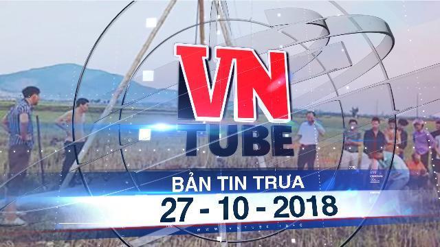 Bản tin VnTube trưa 27-10-2018: Kéo cáp viễn thông, 4 công nhân bị điện giật