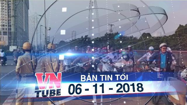 Bản tin VnTube tối 06-11-2018: Hà Nội: Hàng trăm người dân dắt xe đi ngược chiều