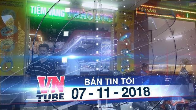 Bản tin VnTube tối 07-11-2018: Cần Thơ thống nhất trả lại kim cương cho tiệm vàng Thảo Lực