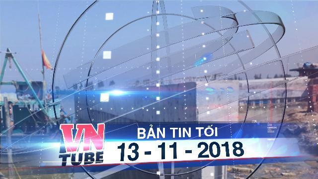 Bản tin VnTube tối 13-11-2018: Doanh nghiệp lấn chiếm trái phép hơn 2.000m2 lòng sông Mã
