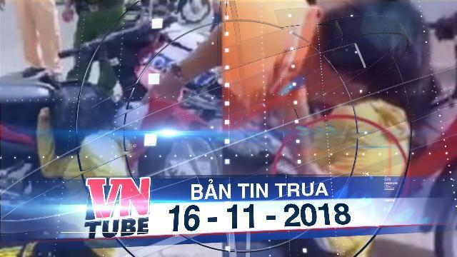 Bản tin VnTube trưa 16-11-2018: CSGT để súng 'cướp cò', một cô gái bị thương