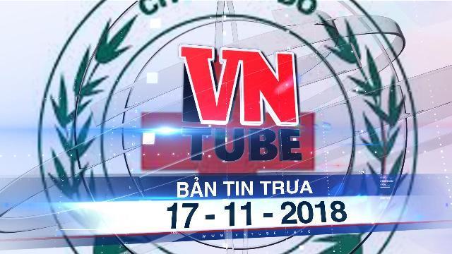 Bản tin VnTube trưa 17-11-2018: Chủ tịch Hội Chữ thập đỏ rao bán động vật hoang dã trên MXH