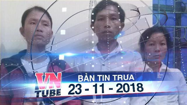 Bản tin VnTube trưa 23-11-2018: Giải cứu bé gái 20 ngày tuổi bị mẹ ruột bán