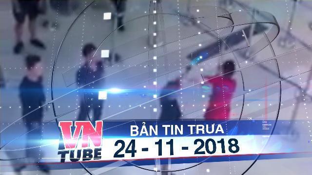 Bản tin VnTube trưa 24-11-2018: Bị từ chối chụp ảnh, nhóm hành khách đánh nữ nhân viên hàng không