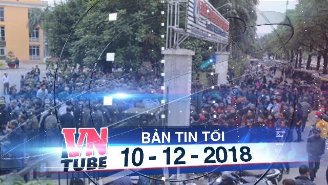Bản tin VnTube tối 10-12-2018: Hàng trăm người đến trụ sở VFF đăng ký mua vé trận chung kết