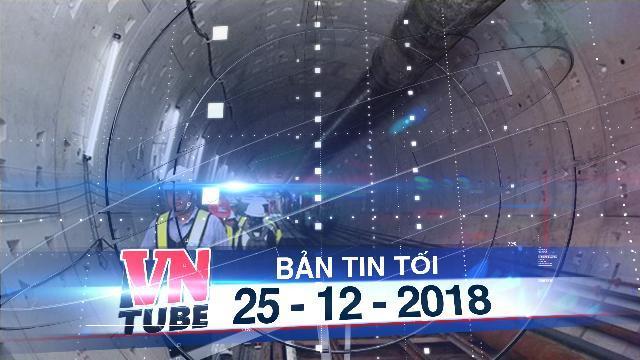 Bản tin VnTube tối 25-12-2018: Phát hiện tuyến Metro TPHCM xây không đúng thiết kế