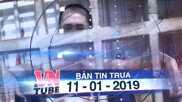Bản tin VnTube trưa 11-01-2019: Giải cứu người chồng bị vợ nhốt nhiều năm trong lồng sắt