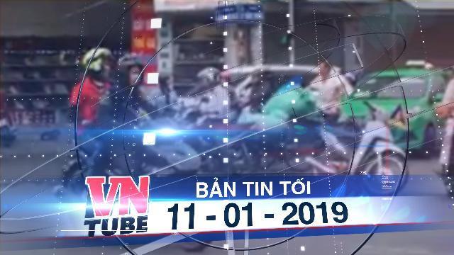 Bản tin VnTube tối 11-01-2019: Triệu tập nhóm phượt thủ tự ý ngăn đường để 'diễu hành'