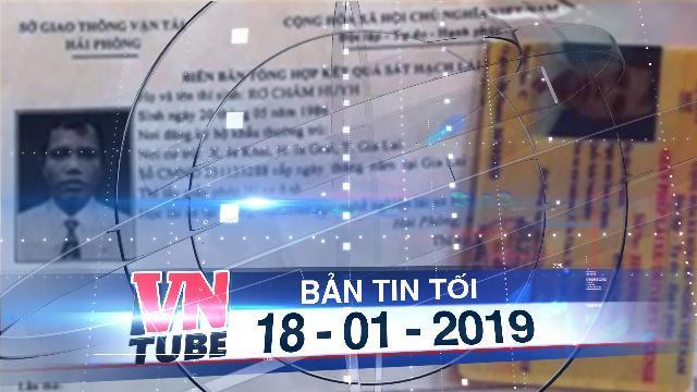 Bản tin VnTube tối 18-01-2019: Gia Lai báo cáo khẩn vụ học lái xe 'cấp tốc'