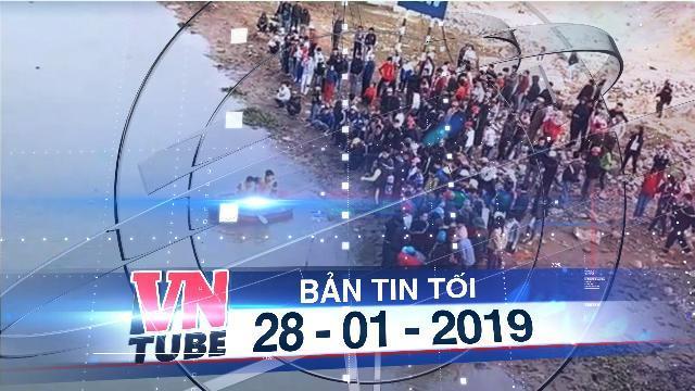 Bản tin VnTube tối 28-01-2019: Chết đuối khi thả cá tiễn ông Công ông Táo