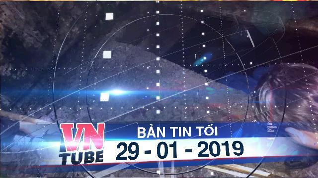 Bản tin VnTube tối 29-01-2019: Học sinh lớp 1 tử vong dưới bể phốt bỏ hoang
