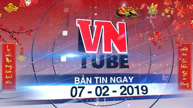 Bản tin Xuân VnTube ngày 07-02-2019: Ô tô tải đâm hàng loạt xe máy đang đứng chờ đèn đỏ, nhiều người nhập viện