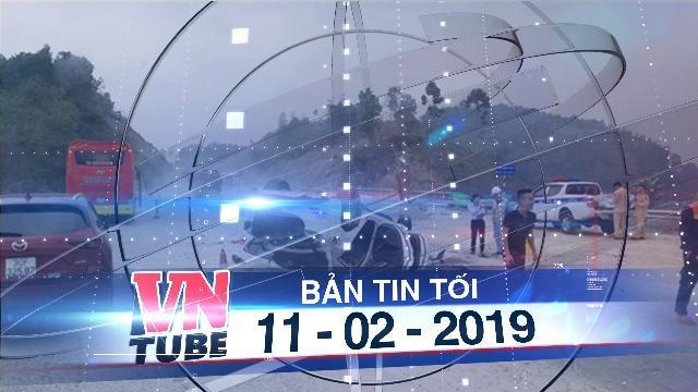 Bản tin VnTube tối 11-02-2019: Mazda 6 lật ngửa trên cao tốc Nội Bài - Lào Cai, 3 người bị thương