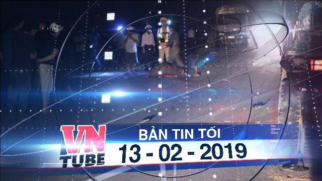 Bản tin VnTube tối 13-02-2019: Xe máy đâm vào đuôi xe tải, 3 thanh niên tử vong