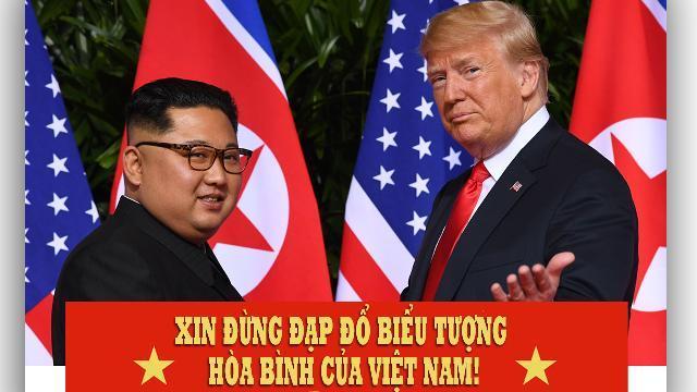 Xin đừng đạp đổ biểu tượng hòa bình của Việt Nam!