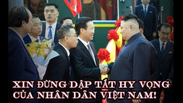 Xin đừng dập tắt hy vọng của nhân dân Việt Nam!
