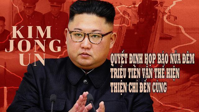 Quyết định họp báo nửa đêm, Triều Tiên vẫn thể hiện thiện chí đến cùng