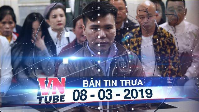 Bản tin VnTube trưa 08-03-2019: Ca sĩ Châu Việt Cường bị tuyên án