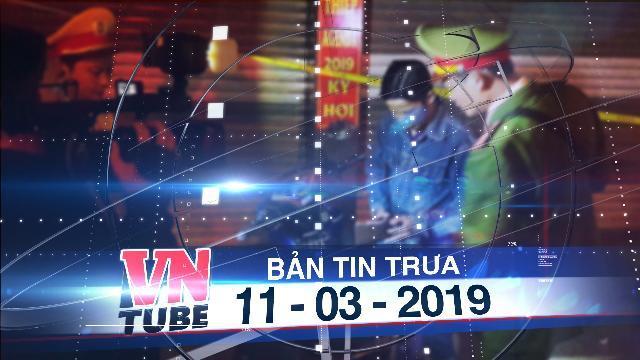 Bản tin VnTube trưa 11-03-2019: Bắt 2 thanh niên dùng gạch tấn công cảnh sát 911 Đà Nẵng