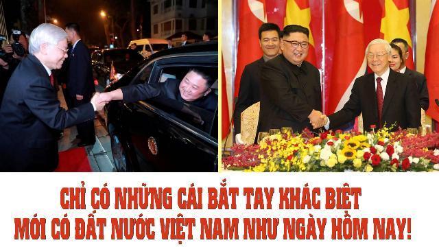 Chỉ có những cái bắt tay khác biệt mới có đất nước Việt Nam như ngày hôm nay!