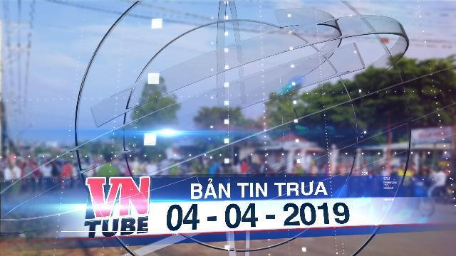 Bản tin VnTube trưa 04-04-2019: Tạm giữ phụ nữ liên quan thi thể phát hiện trong bãi rác