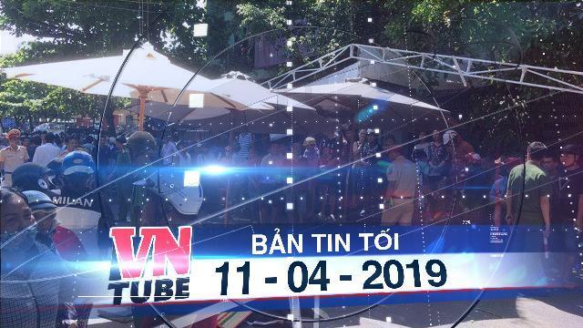 Bản tin VnTube tối 11-04-2019: Ôtô lao vào đám tang, 3 người chết, nhiều người bị thương