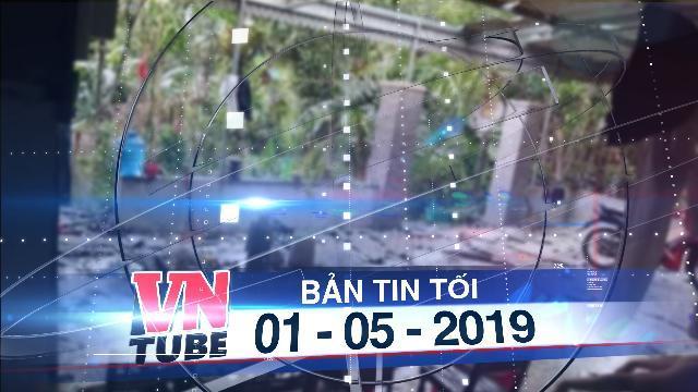 Bản tin VnTube tối 01-05-2019: 'Mưa vàng' kèm lốc xoáy tốc mái 80 nhà dân Hà Tĩnh