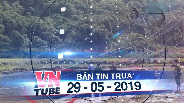 Bản tin VnTube trưa 29-05-2019: Lội qua suối gặt lúa, hai vợ chồng bị điện giật chết