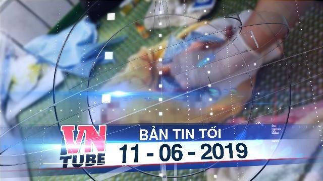 Bản tin VnTube tối 11-06-2019: Phát hiện bé sơ sinh còn nguyên dây rốn treo trên xe máy