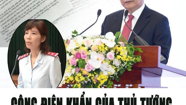 Công điện khẩn của Thủ tướng sau vụ thanh tra nhận hối lộ