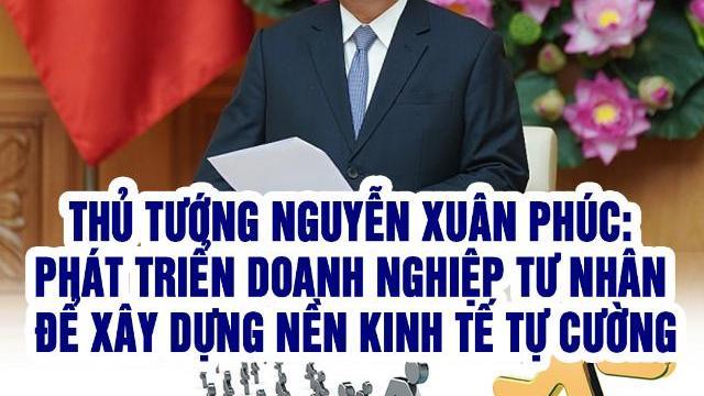 Thủ tướng Nguyễn Xuân Phúc: Phát triển doanh nghiệp tư nhân để xây dựng nền kinh tế tự cường