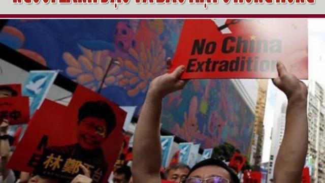 Lật tẩy chiêu trò biểu tình không có người lãnh đạo và bảo mật ở Hồng Kông