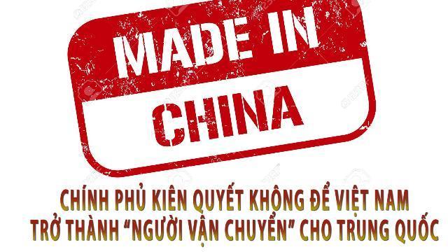 """Chính phủ kiên quyết không để Việt Nam trở thành """"người vận chuyển"""" cho Trung Quốc"""