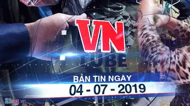 Bản tin VnTube ngày 04-07-2019: Phó thủ tướng yêu cầu làm rõ tình trạng mua bán cảnh phục giả