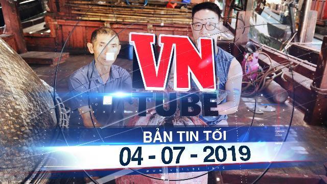 Bản tin VnTube tối 04-07-2019: Quảng Nam đề nghị hỗ trợ xuất khẩu 1.000 tấn mực khô tồn đọng