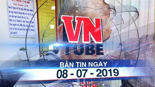 Bản tin VnTube ngày 08-07-2019:Người dân vây bắt kẻ cướp tiệm vàng ở Đà Lạt