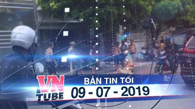 Bản tin VnTube tối 09-07-2019: Nam thanh niên lái xe máy tông trực diện, hất văng CSGT