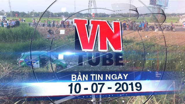 Bản tin VnTube ngày 10-07-2019: Tàu SE1 tông xe taxi, 2 người chết 3 bị thương