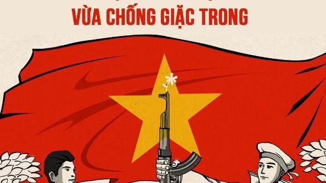 Việt Nam vừa nổ lực chống giặc ngoài, vừa chống giặc trong