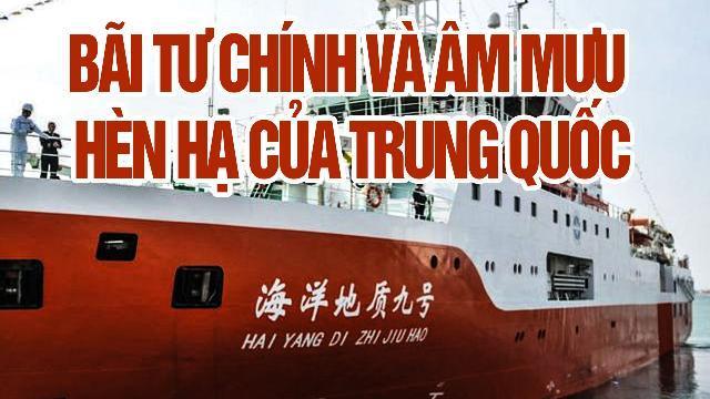 Bãi Tư Chính và âm mưu hèn hạ của Trung Quốc